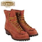 ウエスコ WESCO 8インチ ジョブマスター ブーツ 8INCH JOB MASTER Eワイズ スエード メンズ スウェード レッドウッド RW108100 ウェスコ