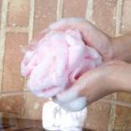 ボディータオル 日本製 とうもろこし お風呂 泡立つ 天然素材 繊維 大きめサイズ バスグッズ マシュマロ ベージュ パープル ピンク イエロー ブルー グリーン