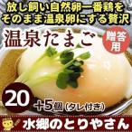 卵 贈答用 温泉たまご 25個詰 (20個+破損保障分5個) 温泉卵 温泉玉子 / 冷蔵 限定配送