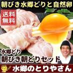 鶏肉 鳥肉 チキン 卵 水郷どり朝びき朝どりセット 水郷どり一羽分(もも肉2枚 胸肉2枚 ささみ2本 自然卵) 放し飼い自然卵(10個+2個) 送料無料