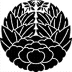 家紋 鯉のぼり 名前旗 五月人形 ひな人形用 家紋番号0014 牡丹(ぼたん) 杏葉牡丹 きょうようぼたん 139822014