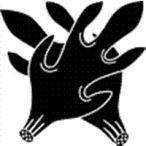 家紋 鯉のぼり 名前旗 五月人形 ひな人形用 家紋番号0019 角(つの) 違い角 ちがいつの 139822019