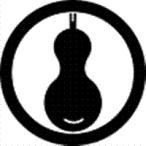 家紋 鯉のぼり 名前旗 五月人形 ひな人形用 家紋番号0279 瓢箪(ひょうたん) 丸に一つ瓢 まるにひとつひらこ 139822279