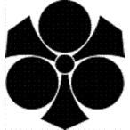 高田卸方屋で買える「家紋 鯉のぼり 名前旗 五月人形 ひな人形用 家紋番号0775 剣(けん 剣三つ星 けんみつぼし 139822775」の画像です。価格は1円になります。