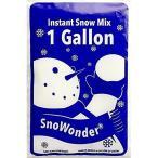 SnoWonder スノーワンダー 水を入れるだけ簡単 スノーパウダー 人工雪 インスタントスノー 4リットル