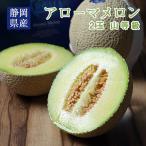 アローマメロン 静岡県産 2玉  山等級 贈答用 送料無料 年始年末特集 フルーツ