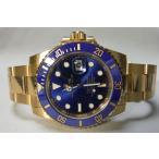ROLEX ロレックス Submariner Date サブマリーナデイト K18YG ブルー文字盤 「青サブ」 116618LB