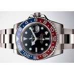 ROLEX ロレックス GMTマスターII WG 赤青ベゼル 116719BLRO