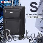 キャリーバッグ キャリーバック 小型(Sサイズ) 旅行バッグ TSAロック BSC-20