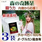 チャーガ茶の極み 森の奇跡茶 シベリア霊芝茶 カバノアナタケ茶 ロシア産 厳選滅菌処理済高品質な商標登録原料100% さらにお得な3袋セット