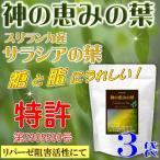 サラシア茶 神の恵みの葉 コタラヒムブツの葉 スリランカ産サラシアレティキュラータ 気になる糖と脂 ダイエットサポートに 実感の3袋セット 送料無料