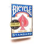 送料無料 即納 [新品] BICYCLE バイスクル トランプ 青 赤色 1個 ポーカーサイズ カード CARD