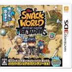 スナックワールド トレジャラーズ 3DS ソフト 【数量限定封入特典】限定ジャラ「クリスタルソードα 」 同梱
