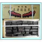 (火鉢・囲炉裏・七輪)などに! 穴が無い大鋸炭 (特丸カット) 15kg 中国産 丸形