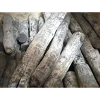 備長炭 木炭 バーベキュー用 天然 羅宇 らう /ラオス備長炭 切丸 15kg