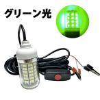 集魚灯LED 水中  グリーン 108 LED 防水 ライト SN-SGT
