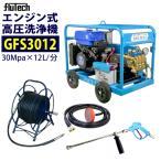 官公庁の圧力指定に対応 フルテック エンジン高圧洗浄機 3012GFS ホース30Mドラム付セット
