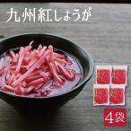 紅しょうが ( 国産 ) 50g×4袋 九州産 生姜 セール お取り寄せ グルメ 合成着色料不使用 ゆうパケット(出荷目安:1〜2週間)