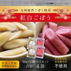 お漬物 ごぼう お節 期間限定 紅白ごぼう 80g×2種×2セット 計4袋 メール便