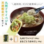 乾燥野菜 九州 ドライベジ と 無添加 出汁 セット 各1袋 味噌汁に 簡単 ひとつまみ ゆうパケット(出荷目安:1〜2週間程度)