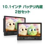 (L0299A)取り付け簡単10.1インチDVD内蔵ヘッドレストモニター スピーカー内蔵  HDMI対応