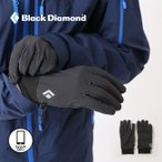 ブラックダイヤモンド ライトウェイトソフトシェル グローブ 手袋 ソフトシェル シェル アクセサリー 撥水 スマホ対応 タッチパネル メンズ レディ フェス