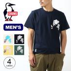 CHUMS チャムス ブービーペインティングポケットTシャツ メンズ メンズ CH01-1860 トップス カットソー Tシャツ キャンプ アウトドア