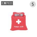 エクスペド フォールドドライバッグ ファーストエイド S | 正規品 | EXPED 防水 ロール開閉式 ドライバッグ 防塵 衛生 救急 薬 バッグ フェス