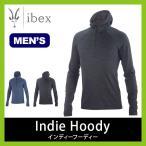 ibex アイベックス メンズ インディーフーディー フーディー フーディ メンズ 男性 ウール ウェア セミフィット トップス インナー メリノウー フェス