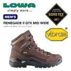 ローバー レネゲード2 ゴアテックス ミッド ワイド  | 正規品 | LOWA 靴 登山靴 トレッキング 男性 メンズ