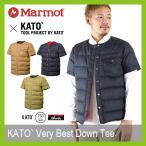 Marmot マーモット カトーベリーベストダウンティー KATO` ダウンジャケット 半袖ダウン アウター Nanga 750フィルパワー 軽量 撥 フェス