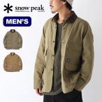 snow peak スノーピーク タキビダックジャケット TAKIBI Duck Coat メンズ コート アウトドア キャンプ 焚き火