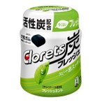 ◆モンデリーズ クロレッツ炭フレッシュ フレッシュミントボトルR 127g【6個セット】