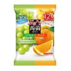 ◆オリヒロ ぷるんと蒟蒻ゼリーアソート マスカット+オレンジ 20g×12個【6個セット】