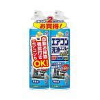 アース製薬 エアコン洗浄スプレー 無香 420mlx2本パック