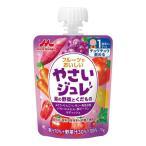 ◆森永乳業 フルーツでおいしいやさいジュレ 紫の野菜と果物 70g【6個セット】
