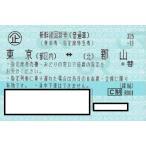 新幹線 東京ー郡山 指定席回数券チケット 1枚(片道)