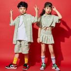 Yahoo!サンフラワーハウスキッズ ダンス衣装  ヒップホップ  長袖 ズボン ダンスパンツ ダンストップス 子供 女の子 男の子 体操服 ステージ衣装  舞台装  練習着