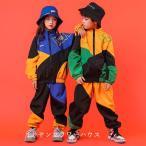 キッズダンス衣装 ヒップホップ ダンス衣装 キッズ セットアップ 子供 トップス ジャケット ダンスパンツ 男の子 女の子 練習着  体操服 ステージ衣装