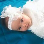 エンゼル ベビー 赤ちゃん かわいい レース カチューム ヘアバンド お宮参り セレモニー 記念写真 出産祝い 日本製