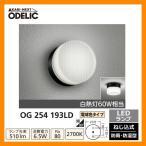 ショッピングLED LED 照明 LED ポーチライト OG 254 193LD LEDライト 外灯 屋外 門灯 ODELIC オーデリック 送料無料