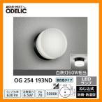 ショッピングLED LED 照明 LED ポーチライト OG 254 193ND LEDライト 外灯 屋外 門灯 ODELIC オーデリック 送料無料