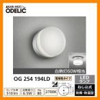 ショッピングLED LED 照明 LED ポーチライト OG 254 194LD LEDライト 外灯 屋外 門灯 ODELIC オーデリック 送料無料