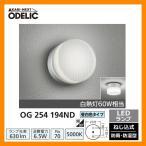 ショッピングLED LED 照明 LED ポーチライト OG 254 194ND LEDライト 外灯 屋外 門灯 ODELIC オーデリック 送料無料