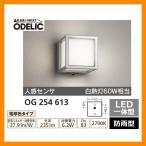 ショッピングLED LED 照明 LED ポーチライト OG 254 613 人感センサモード切替型 LEDライト 外灯 屋外 門灯 ODELIC オーデリック 送料無料