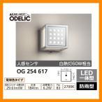 ショッピングLED LED 照明 LED ポーチライト OG 254 617 人感センサモード切替型 LEDライト 外灯 屋外 門灯 ODELIC オーデリック 送料無料