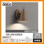 ショッピングLED LED 照明 LED ポーチライト OG 254 629LD LEDライト 外灯 屋外 門灯 ODELIC オーデリック 送料無料