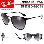 レイバン サングラス エリカ RB3539 002/8G 54サイズ メンズ レディース Ray-Ban ERIKA METAL メタル仕様