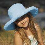 帽子/子供/帽子/キッズ/ハット/UVカット 帽子SB27-LTBLUE