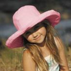 帽子/子供/帽子/キッズ/ハット/UVカット 帽子SB27-LTPINK